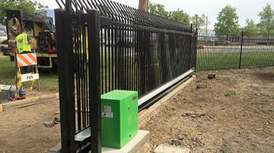 Commercial & Industrial Gate Opener Installation