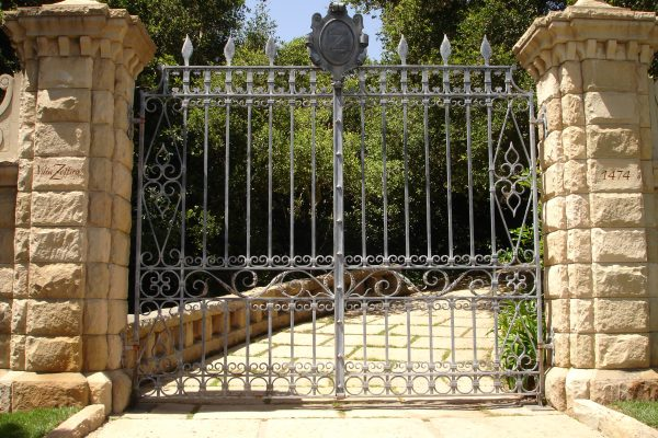 Wrought Iron Gates, Santa Barbara
