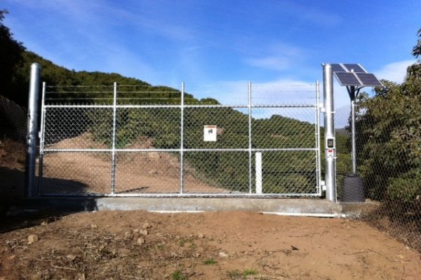 Avocado Orchard Security Gate