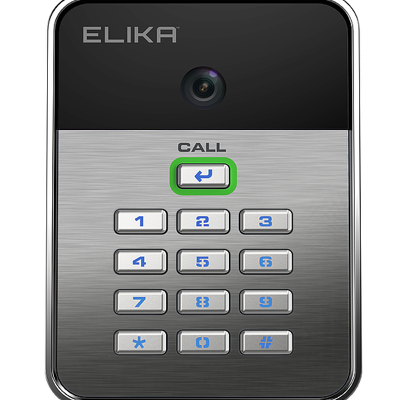 Elika 92 Advanced Wireless Access Control With Security Video Camera