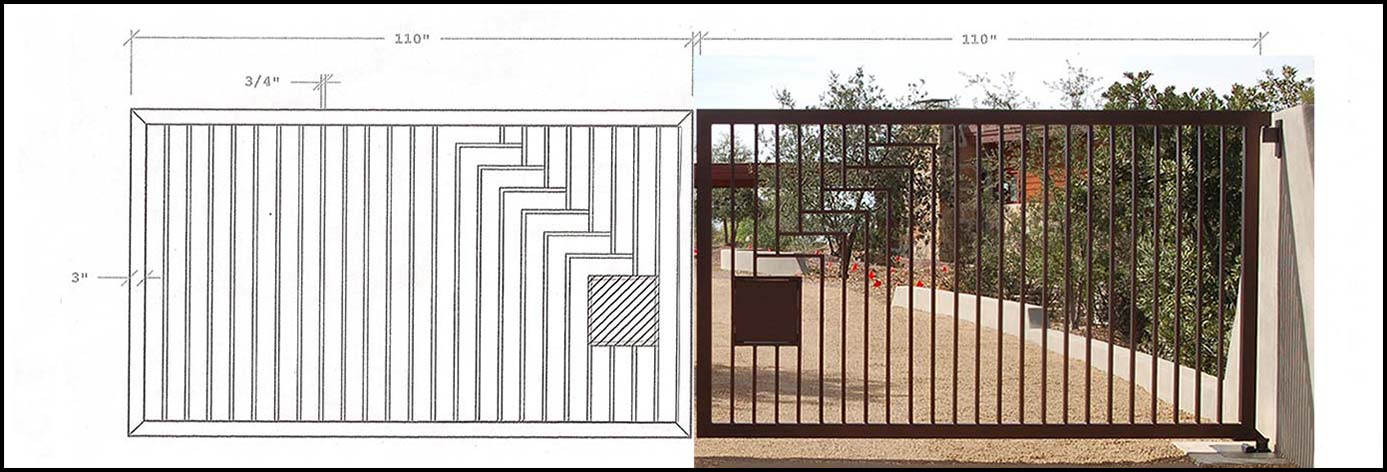 Order your Exceptional custom gate design today