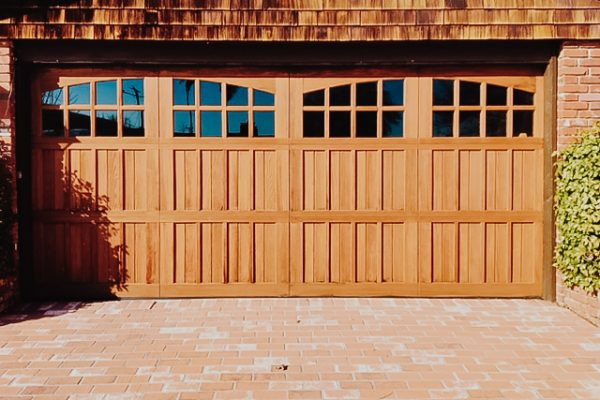 RANCH HOUSE CUSTOM WOOD SECTIONAL DOOR